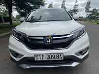 Cần bán xe Honda CR V 2.4 sản xuất năm 2014, màu trắng như mới, giá 840tr