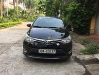 Bán Toyota Vios E sản xuất 2014, màu đen số sàn, giá 365tr