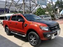 Bán xe Ford Ranger Wildtrak 2.2L 4x2 AT đời 2013, màu cam, nhập khẩu