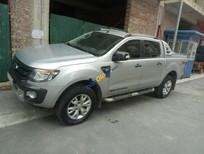 Cần bán xe Ford Ranger Wildtrak 3.2 sản xuất năm 2014, màu bạc, nhập khẩu