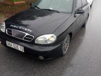 Cần bán xe Daewoo Lanos Sx sản xuất năm 2002, màu đen