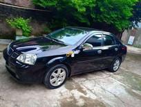 Bán Daewoo Lacetti sản xuất năm 2009, màu đen, xe nhập