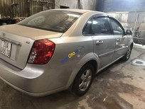 Cần bán lại xe Daewoo Lacetti EX năm 2009, màu bạc