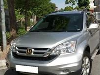 Cần bán xe Honda CR V AT năm 2011, màu bạc số tự động