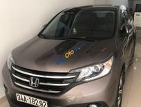 Cần bán Honda CR V sản xuất 2014, màu xám xe gia đình