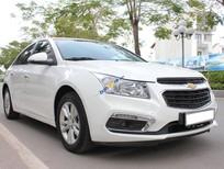 Cần bán Chevrolet Cruze LT 1.6MT sản xuất 2017, màu trắng xe gia đình