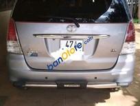 Cần bán lại xe Toyota Innova sản xuất 2010, màu bạc