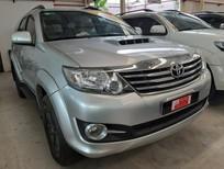 Cần bán xe Toyota Fortuner 2.5G năm sản xuất 2016, màu bạc số sàn