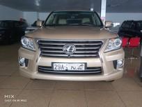 Cần bán xe Lexus LX 570 2009, màu vàng, nhập khẩu