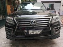 Bán xe Lexus LX 570 2014 vàng cát tên cá nhân