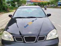 Cần bán gấp Daewoo Lacetti EX năm sản xuất 2005, màu đen số sàn, giá 125tr
