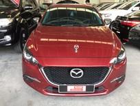 Bán xe Mazda 3 sedan SX 2017 màu đỏ, phanh tay điện tử