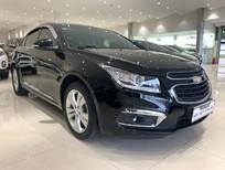 Bán Chevrolet Cruze LTZ 2017, màu đen, 490 triệu