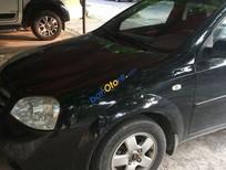 Bán Daewoo Lacetti năm sản xuất 2008, màu đen