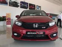 Honda Brio RS 2020 TP. HCM khuyến mãi khủng, giá 450tr, nhận xe từ 140tr góp 5,5tr, gọi Oanh 0904567404