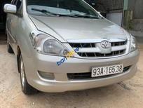 Cần bán lại xe Toyota Innova G sản xuất năm 2006 xe gia đình