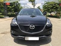 Cần bán Mazda CX 9 AT model 2014, màu đen, xe nhập