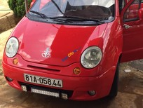 Cần bán xe Daewoo Matiz sản xuất 2007, màu đỏ xe gia đình