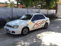 Bán ô tô Daewoo Lanos sản xuất năm 2003, màu trắng, nhập khẩu xe gia đình, giá chỉ 56 triệu