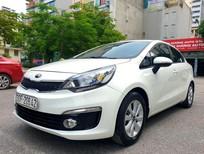 Bán ô tô Kia Rio năm sản xuất 2016, màu trắng như mới, giá tốt