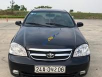 Bán Daewoo Lacetti EX sản xuất 2008, màu đen