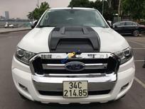 Xe Ford Ranger XLT sản xuất 2015, màu trắng, nhập khẩu