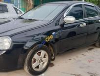 Bán Daewoo Lacetti sản xuất 2009, màu đen, 162 triệu