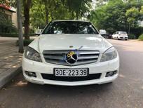 Cần bán lại xe Mercedes C230 năm sản xuất 2008, màu trắng