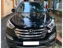 Giao ngay Hyundai Santa Fe 2014, màu đen, tư nhân chính chủ, biển HN