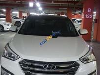 Bán Hyundai Santa Fe sản xuất năm 2014, màu trắng, nhập khẩu nguyên chiếc số tự động
