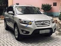 Bán ô tô Hyundai Santa Fe sản xuất năm 2009, màu bạc, nhập khẩu