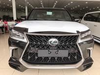 Bán Lexus LX 570 Super Sport sản xuất năm 2019, màu đen, xe nhập