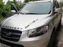 Cần bán lại xe Hyundai Santa Fe sản xuất 2008, màu bạc, nhập khẩu xe gia đình, giá chỉ 465 triệu