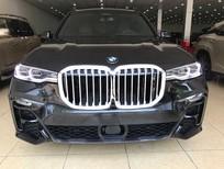 Bán BMW X7 XDrive 4.0i MSport 2020 thể thao màu đen, nội thất nâu da bò, bản full đồ nhất