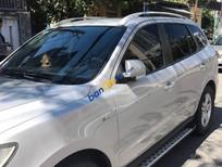 Bán Hyundai Santa Fe sản xuất 2009, màu bạc xe gia đình