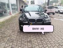 Cần bán gấp BMW X6 năm sản xuất 2008, màu đen, nhập khẩu