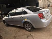 Cần bán gấp Daewoo Lacetti MT sản xuất 2009, màu bạc, 173tr