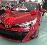 Bán Toyota Yaris sản xuất năm 2019, màu đỏ, nhập khẩu