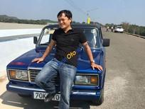 Bán ô tô Lada 2107 sản xuất năm 1985, màu xanh lam, 40 triệu