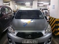 Cần bán xe Mitsubishi Attrage sản xuất năm 2015, màu bạc