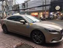 Chính chủ bán Mazda 6 năm 2017, màu vàng cát