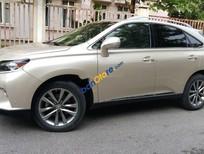 Xe Lexus RX 350 năm sản xuất 2015, màu vàng, nhập khẩu nguyên chiếc chính chủ
