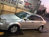 Cần bán lại xe Daewoo Lacetti năm sản xuất 2011, màu bạc, giá chỉ 210 triệu