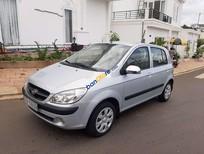 Cần bán Hyundai Getz sản xuất 2009, màu bạc
