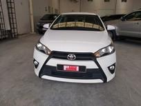 Cần bán lại xe Toyota Yaris 1.3G năm 2015, màu trắng, xe nhập, số tự động