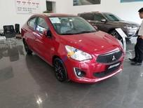 Cần bán xe Mitsubishi Attrage sản xuất 2019, màu đỏ, xe nhập giá cạnh tranh