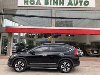 Cần bán xe Honda CR V năm sản xuất 2016, màu đen xe gia đình, giá tốt