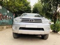 Toyota Fortuner 2.5G số sàn, máy dầu, sản xuất 2009, xe cá nhân chính chủ từ đầu