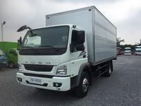 Xe tải 6.5 tấn thùng kín Fuso FA140 thùng dài 5m3, thủ tục nhanh gọn, có xe giao ngay