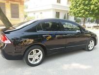 Bán Honda Civic năm sản xuất 2007, màu đen số tự động